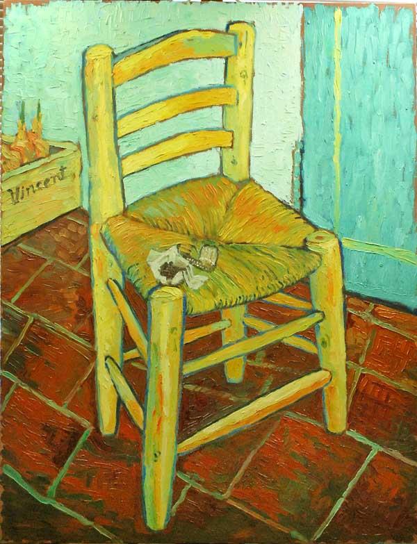 「文森特的椅子和烟斗」的圖片搜尋結果
